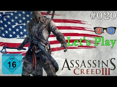 3D Let's Play Assassin's Creed III (Xbox 360) #020: Einstandsfeier