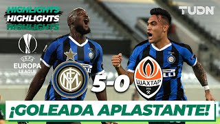 Highlights | Inter Milan 5-0 Shakhtar | Europa League 2020 - Semifinal | TUDN