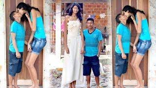 Một mực đo`i cưới vợ 'khổng lồ' 2m, thanh niên 1m6 choa'ng va'ng tiết lô về đ,ê,m t,â,n h,ô,n