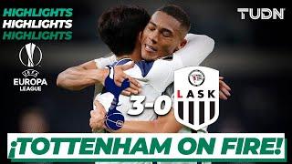 Highlights   Tottenham 3-0 LASK   Europa League 2020/21 - J1   TUDN