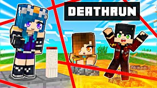 Our FUNNY Death Run in Minecraft!