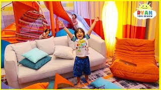 World's Largest Cruise Ship Room Tour!! Royal Caribbean Symphony of the Seas Ultimate Family Suite