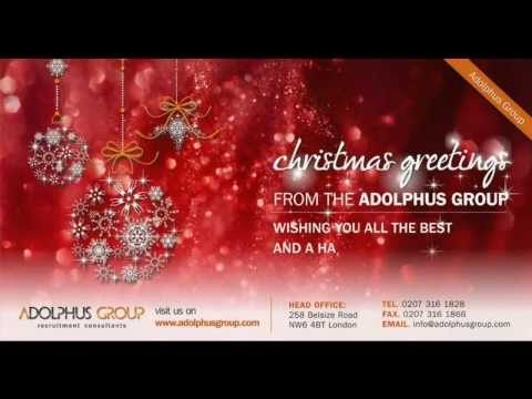 Christmas Greetings 2012 from the ADOLPHUS GROUP