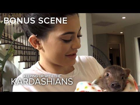 KUWTK | Kris Jenner Gets Kylie a Pig! | E!