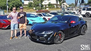 TheStradman's New Toyota Supra Hunts the Hypercars!