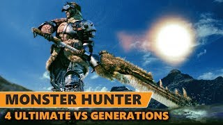 Monster Hunter 4 Ultimate VS Monster Hunter Generations