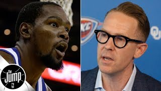Thunder GM Sam Presti responds to Kevin Durant's comments about OKC   The Jump