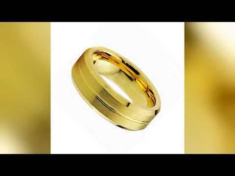 Find a men's tungsten rings online store