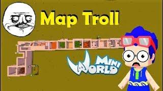 Mini world: Map troll tưởng không khó ai ngờ khó không tưởng