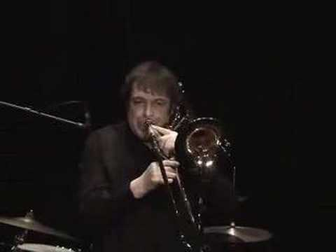 "Philippe Renault plays Trombone & Harmonizer ""Jaune ou Ecru"""