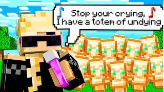 Minecraft but I Get Whatever I Rap...