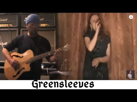 Blackmore's night - Greensleeves (collaboration with Toto) (cover)