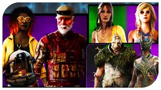 Dead By Daylight New Rift Cosmetics! - DBD Rift Cosmetics Explored! Bill, Claud, Trapper and more!
