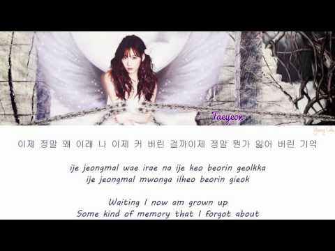 Taeyeon (SNSD) - Atlantis Princess lyrics [HAN|ROM|ENG]