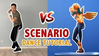 How To Dance Scenario (Step By Step) In Real Life | Learn How To Dance
