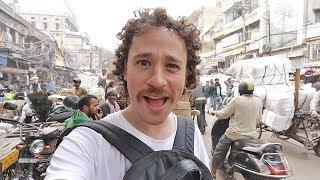 ESTO ES UN CAOS 🇮🇳 Mercados callejeros de India