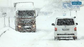 Südalpen versinken im Schnee (05.12.2020)