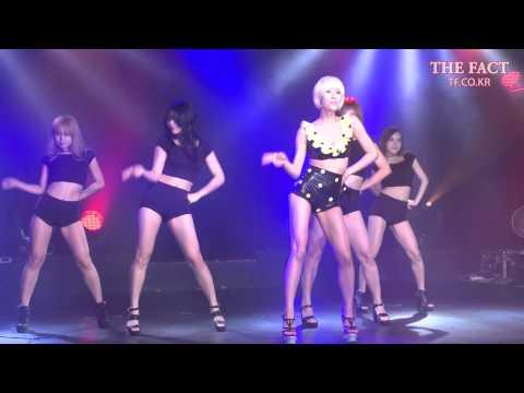[TF영상] '3년 만에 컴백!' 스테파니, '라이브와 섹시 댄스의 만남'
