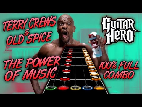 Terry Crews - The Power of Music 100% FC (Guitar Hero Custom Song)