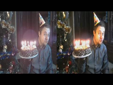 My Birthday 3D ! DECEMBER 29 ( side-by-side )