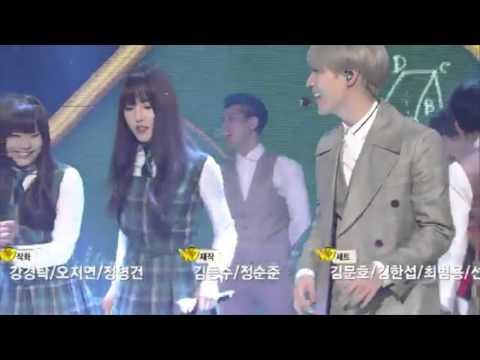FULL 160304 SHINee Taemin teaching GFriend dance Press Your Number