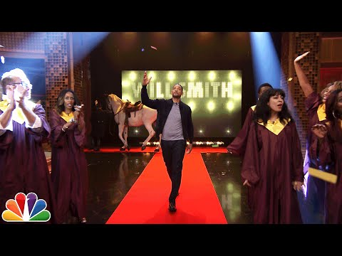 Will Smith's Awesome Tonight Show Entrance