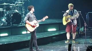 Shawn Mendes -Mercy (Ed Sheeran Comes Out) August 16, 2017 Barclays Center