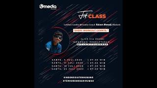 FIT CLASS BERSAMA COACH VALAST AHMAD (SKOLARI)