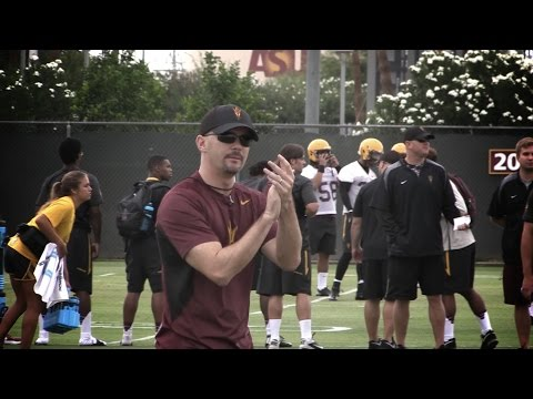 Mic'd up: Arizona State's Mike Norvell at Football Training Camp
