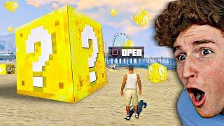 Opening 1,000 LUCKY BLOCKS In GTA 5.. (Mods)