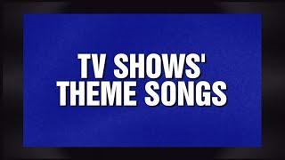 Alex Trebek Reciting TV Shows' Theme Song Lyrics - Jeopardy! 12.24.13