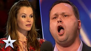 Paul Potts SHOCKED the nation with AMAZING vocals | Unforgettable Audition | Britain's Got Talent
