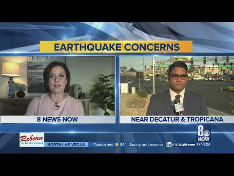 Some in Las Vegas valley feel Tonopah earthquake; experts not surprised due to high seismic activity