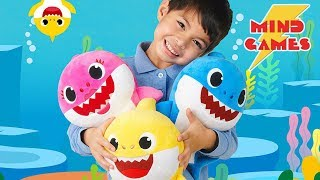 Baby Shark New Singing Plush Toys Now Available in Mind Games Stores across Canada!