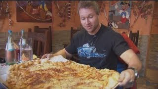 Furious World Tour | Germany - 10lb Pizza, Super Cars, Testicles, 6lb Steak | Furious Pete