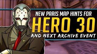 Overwatch New Hero 30 Hints & Next Archive Event