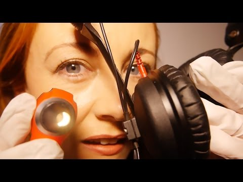 ❥ASMR Deep Inside Your Ears*❥ Binaural Hearing Examination Role Play