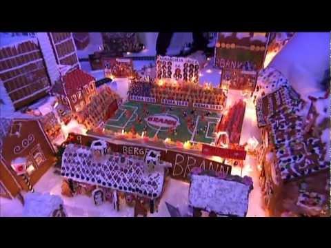 Pepperkakebyen 2012 - Bilder fra TV 2 - Del 2 - The worlds greatest gingerbread city