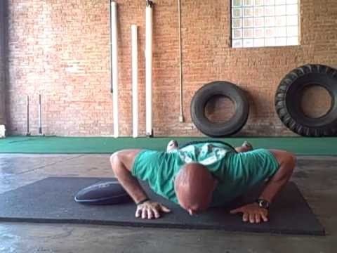 Pushup W/ Sandbell Drag