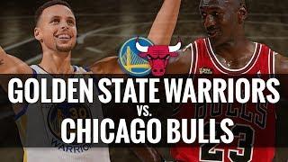 90s Bulls vs. Golden State Warriors