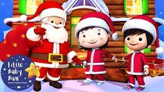 Christmas Songs for Kids | We Wish You a Merry Christmas | Christmas Carols | Little Baby Bum