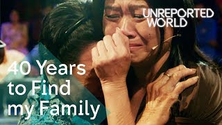 Families reunited after 40 years apart in Cambodia | Unreported World