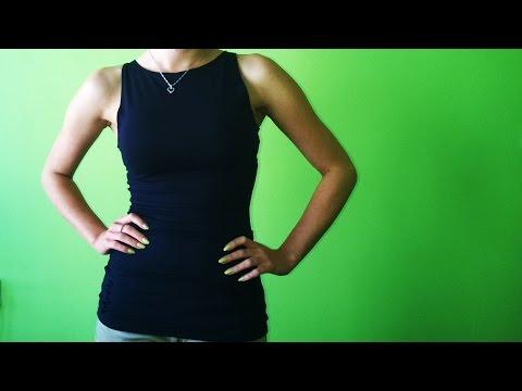 Jak wykorzystać resztki materiałów - damska bluzka