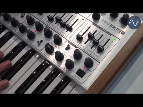 [Musikmesse] Arturia MiniBrute SE (english)