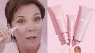 Kris Jenner | Daily Skincare Routine Using Kylie Skin