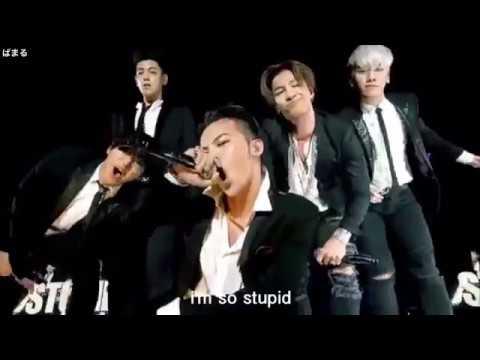 BIGBANG - STUPID LIAR【歌詞,カナルビ,日本語字幕付き】