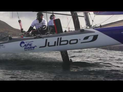 #JulboSailSession: Foiling Cape Horn VOstGE