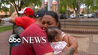 Family thanks heroes who rushed to save kids from burning building