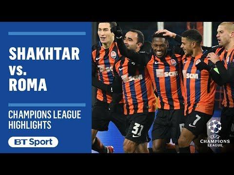 Shakhtar Donetsk vs Roma