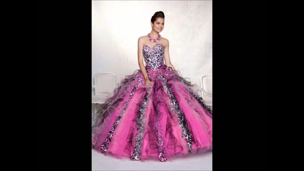 Vestidos De 15 Anos: Vestidos De Quince Años Rosa